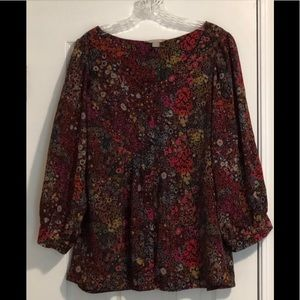 White Stag Women's Button front blouse NWOT